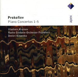 Prokofiev: Pno Ctos Nos 1 - 5