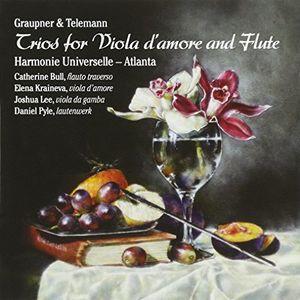 Trios for Viola d'amore & Flute