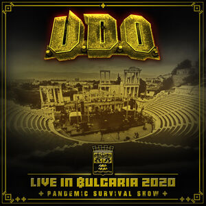 Live in Bulgaria 2020 - Pandemic Survival Show (DVD & 2 CD)