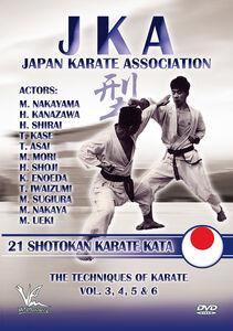 Jka-Japan Karate Association: 21 Shotokan Karate Kata