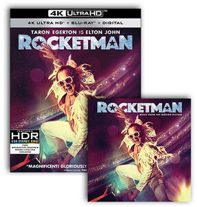 Rocketman UHD/ LP Bundle