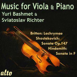Music for Viola & Piano