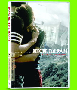 Before the Rain (Criterion Collection)