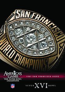 NFL America's Game: 1981 49Ers (Super Bowl Xvi)