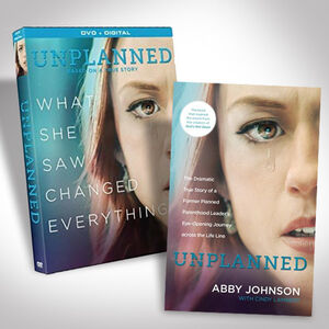 Unplanned DVD Bundle with Book