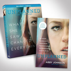 Unplanned Blu-Ray Bundle with Book