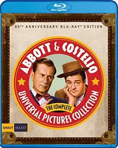 Abbott and Costello: The Complete Universal Pictures Collection (80th Anniversary Edition)