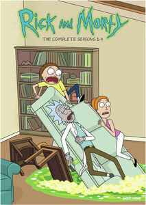 Rick and Morty: The Complete Seasons 1-4