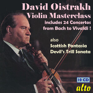 Violin Masterclass 24 Concertos from Bach to Vivaldi Other Key Works & Chamber Music