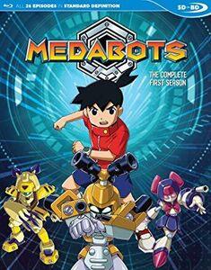 Medabots: Season 1 (english Dubbed Sdbd)