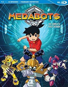 Medabots: Season 1 (english Dubbed Sdbd)