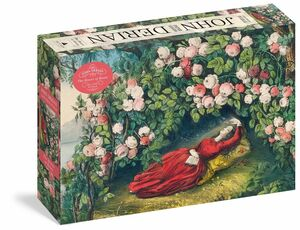 JOHN DERIAN BOWER OF ROSES 1000 PIECE PUZZLE