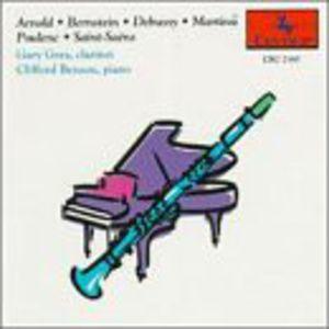 Clarinet & Piano: Bernstein, Debussy, Poulenc, Etc