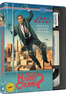 Who's Harry Crumb? (Retro VHS Packaging)
