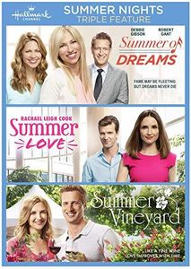 Summer Nights Triple Feature (Summer of Dreams /  Summer Love /  Summer in the Vineyard)