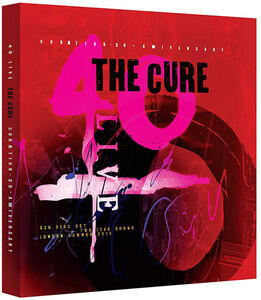 The Cure - 40 Live Curaetion 25 + Anniversary (2DVD/ 4CD)