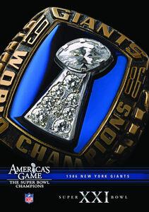 NFL America's Game: 1986 Giants (Super Bowl Xxi)