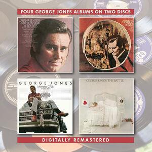 George Jones /  In A Gospel Way /  Memories Of Us /  The Battle [Import]