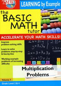 Basic Math Tutor Multiplication Problems