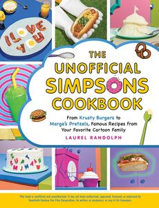 UNOFFICIAL SIMPSONS COOKBOOK
