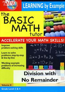 Basic Math Tutor Division With No Remainder