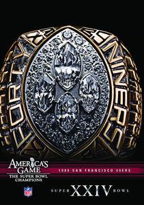 NFL America's Game: 1989 49Ers (Super Bowl Xxiv)
