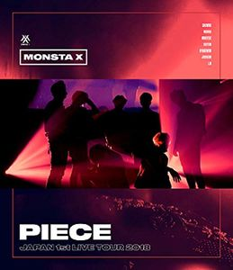 Monsta X Japan 1st Live Tour 2018 Piece [Import]