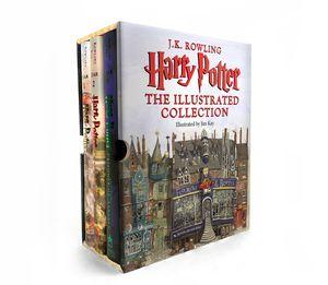 HARRY POTTER THE ILLUSTRATED COLLECTION