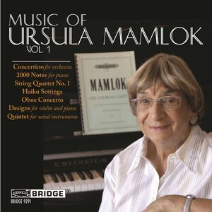 Music of Ursula Mamlok 1
