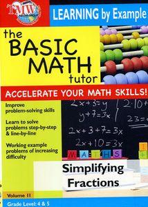 Basic Math Tutor Simplifying Fractions
