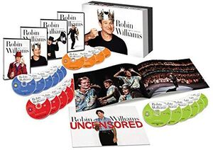 Robin Williams: Comic Genius (22 Discs)
