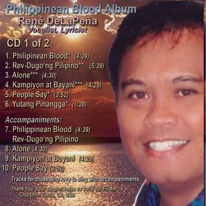 Philippinean Blood Album