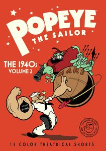 Popeye the Sailor: The 1940s: Volume 2