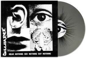 Hear Nothing, See Nothing, Say Nothing (Grey /  Black Splatter Vinyl) [Import]