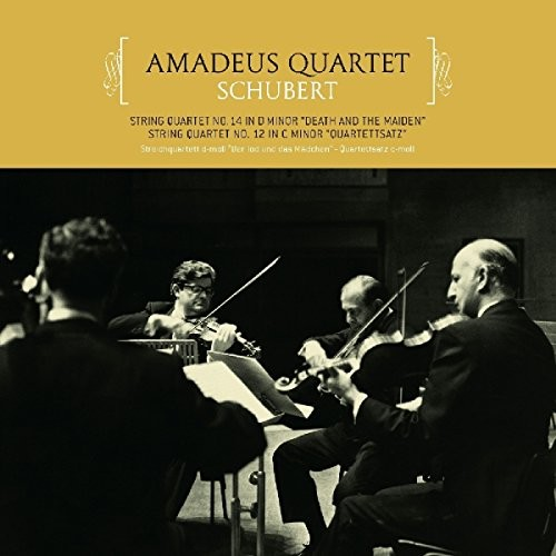 Schubert: String Quartets 14 In D Minor & 12 In C Minor