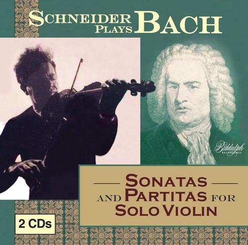 Schneider Plays Bach - Sonatas & Partitas