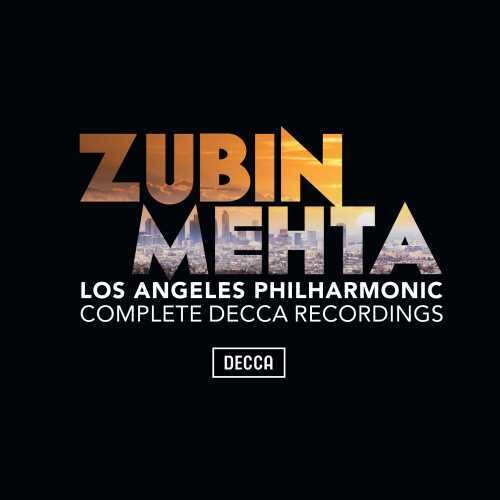 Zubin Mehta Los Angeles Philharmonic - Complete Decca Recordings  [38 CDs]