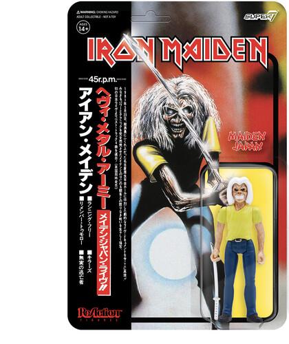 IRON MAIDEN REACTION FIGURE - MAIDEN JAPAN