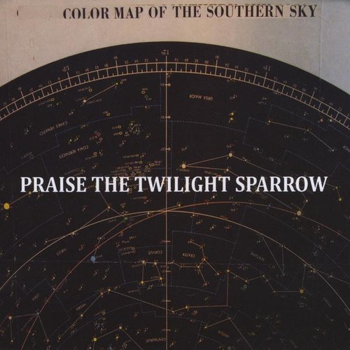 Color Map of the Southern Sky