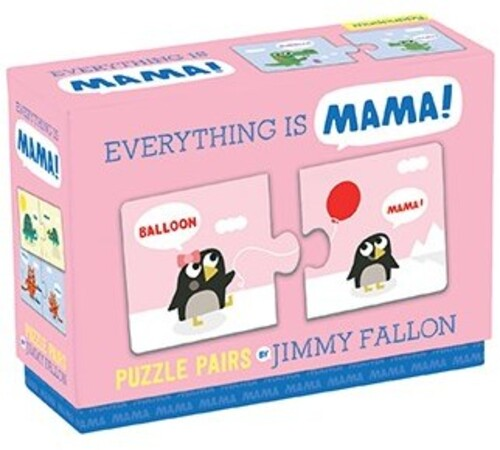 - Jimmy Fallon Everything is Mama Puzzle Pairs