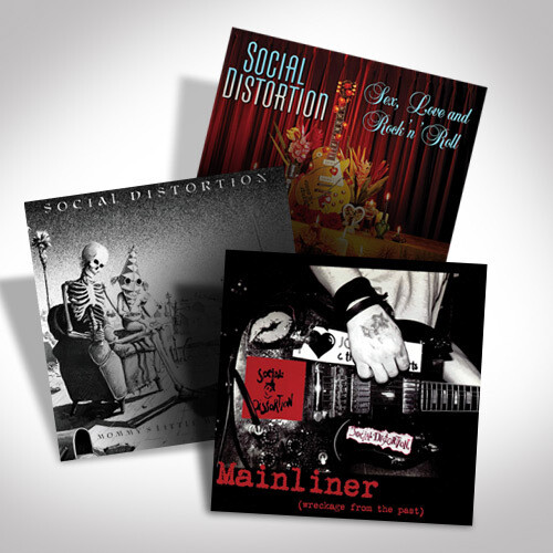 Social Distortion Vinyl Bundle