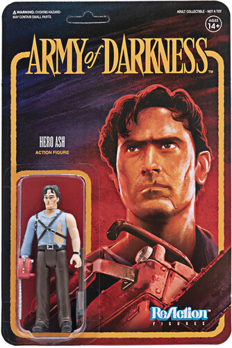 Army of Darkness Reaction - Ash with Chainsaw Hand - Army of Darkness ReAction wave 1 - Ash with Chainsaw Hand