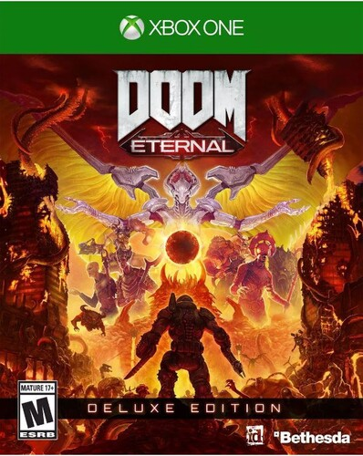 Xb1 Doom Eternal Deluxe Ed - Doom Eternal Deluxe Edition for Xbox One