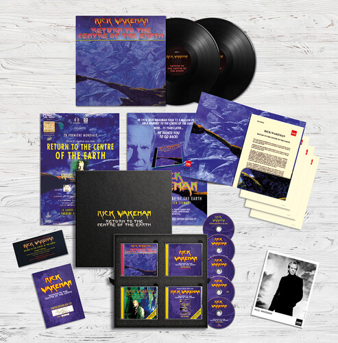 Rick Wakeman - Return To The Centre Of The Earth (W/Cd) (W/Dvd)