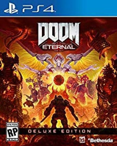 Ps4 Doom Eternal Deluxe Ed - Doom Eternal Deluxe Edition for PlayStation 4