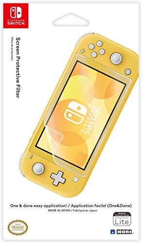 - HORI Screen Protector Filter for Nintendo Switch Lite