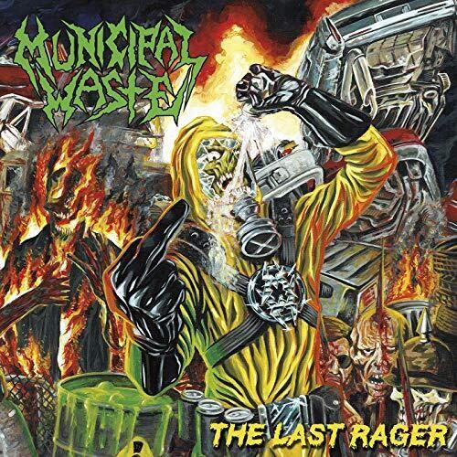 Municipal Waste - The Last Rager [Yellow/Blue Splatter LP]