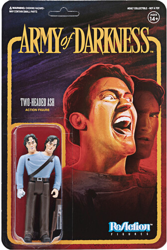 Army of Darkness Reaction Wave 1 - Two-Headed Ash - Army of Darkness ReAction wave 1 - Two-Headed Ash