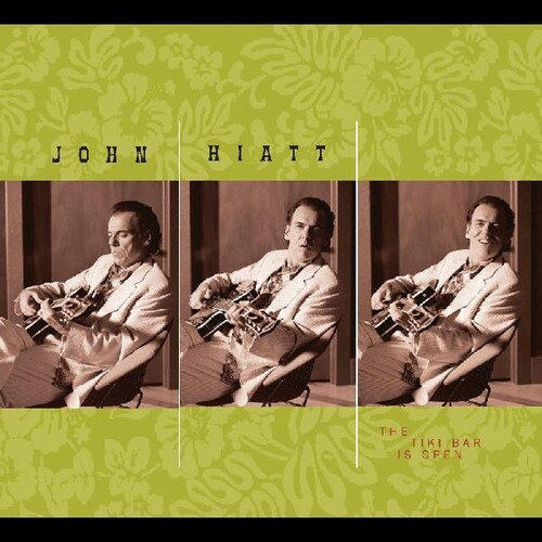 John Hiatt - The Tiki Bar Is Open [Limited Edition Green/White LP]