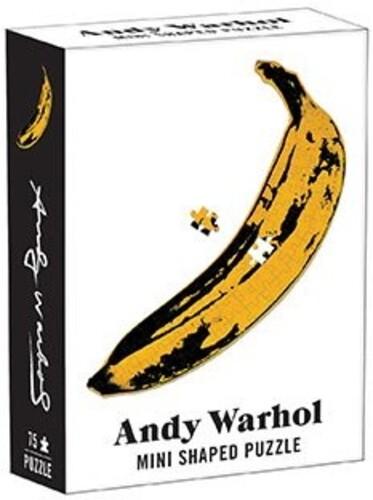 - Andy Warhol Mini Shaped Puzzle Banana